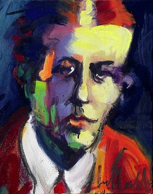 Painting - Armin O. Hansen by Les Leffingwell