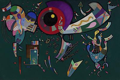 Kandinsky Wall Art - Painting - Around The Circle - Autour Du Cercle, 1940 by Wassily Kandinsky