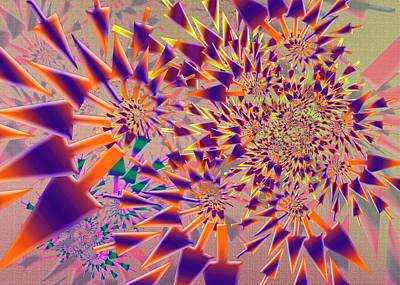 Digital Art - Arrow Complex by Vitaly Mishurovsky