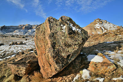 Photograph - Arrowhead Boulder On Ruby Mountain by Ray Mathis