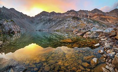 Photograph - Arrowhead Lake Sunrise by Leland D Howard