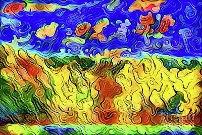 Digital Art - Art A18-155 by Ray Shrewsberry
