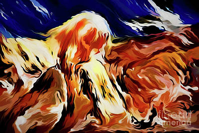 Painting - Art A18236 by Ray Shrewsberry