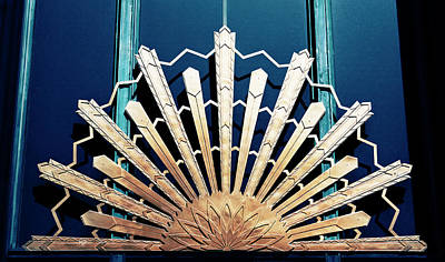 Photograph - Art Deco Art Nouveau Sunburst by Marilyn Hunt