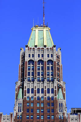 Photograph - Art Deco Bank Of America Building Baltimore by James Brunker