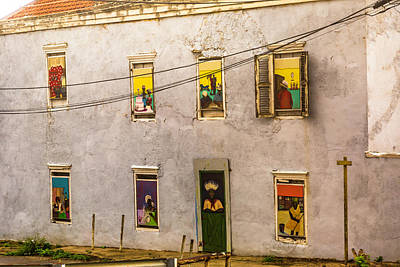 Photograph - Art In The Windows by Max Huber