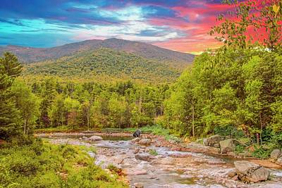 Digital Art - Art Landscape,adirondack Park.                                by Rusty R Smith