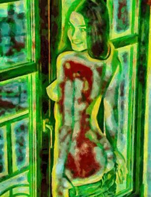 Digital Art - Art Nude by Mario Carini