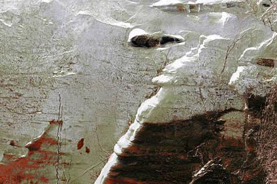 Photograph - Art Print Cliff 17 by Harry Gruenert