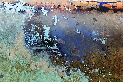Photograph - Art Print Patina 57 by Harry Gruenert