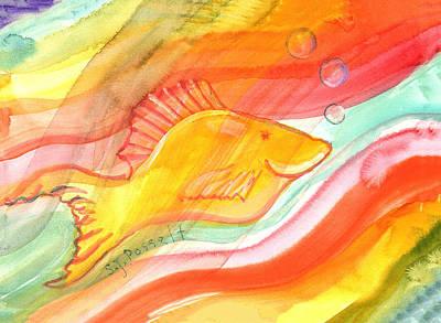 Painting - Art Therapy by Sheri Jo Posselt