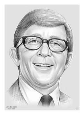 Drawings Rights Managed Images - Arte Johnson Royalty-Free Image by Greg Joens