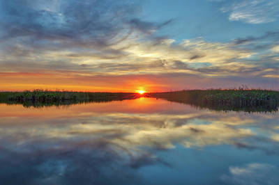 Photograph - Arthur R Marshall Loxahatchee National Wildlife Refuge by Juergen Roth