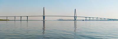 Photograph - Arthur Ravenel Jr Bridge Over Cooper by Thepixelchef