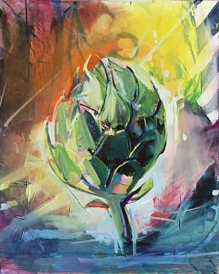 Painting - Artichoke Dream by Drew Davis