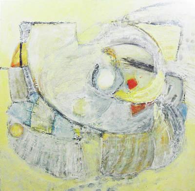 Painting - Artifact by Evy Olsen Halvorsen