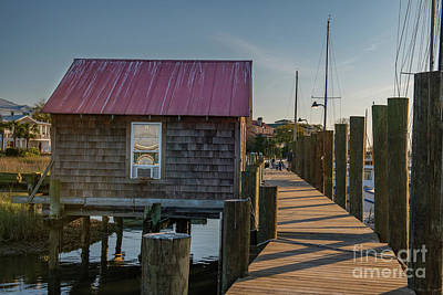 Photograph - Artist Inspiration - Shem Creek by Dale Powell