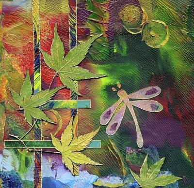 Mixed Media - Dragonfly by Koka Filipovic