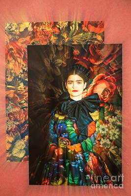 Photograph - Artistic Frida Kahlo Stream  by Chuck Kuhn