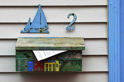 Photograph - Artistic Mailbox by Tatiana Travelways