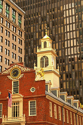 Photograph - Artists Rendition Of The Grand Old State House by Paul Mangold