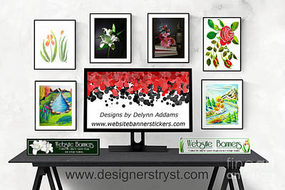 Digital Art - Artwork Designs By Delynn Addams by Delynn Addams