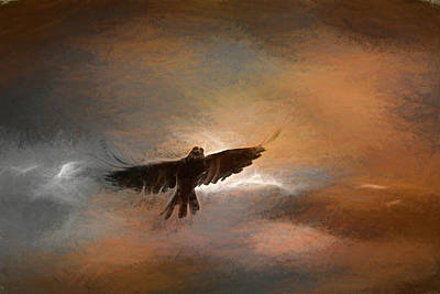 Painting - As The Crow Fly's by Bob Orsillo