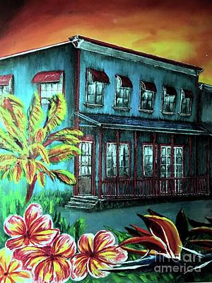 Evening Fall, Pahoa Town Original