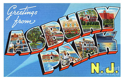 Photograph - Asbury Park Greetings #2 by Mark Miller