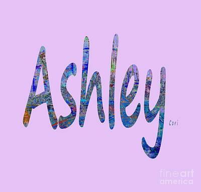 Digital Art - Ashley by Corinne Carroll