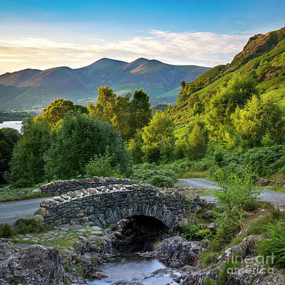 Photograph - Ashness Bridge Cumbria by Brian Jannsen