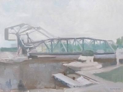 Painting - Ashtabula Harbor by Curtis Green