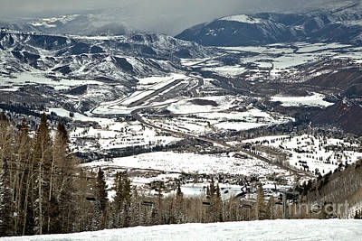 Photograph - Aspen Airport In The Rockies by Adam Jewell