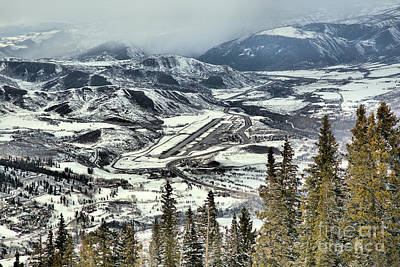 Photograph - Aspen Airport Over The Pines by Adam Jewell