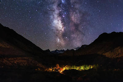 Photograph - Aspen Nights by Tassanee Angiolillo