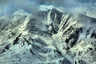 Photograph - Aspen Snowmass Avalanche Chutes by Adam Jewell