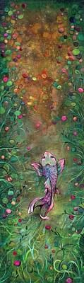 Impressionist Landscapes - Aspiration of the Koi by Shadia Derbyshire