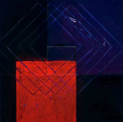 Painting - Assemble Cube 11, 1998 Mixed Media On by Stella Salazar