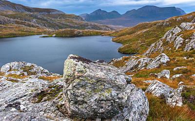 Mannequin Dresses - Assynt, Scottish Highlands by David Ross