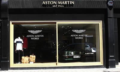 Photograph - Aston Martin by Aidan Moran