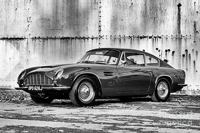 Photograph - Aston Martin Db6 Mk2 Vantage Saloon by Tim Gainey