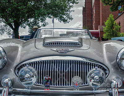 Photograph - Austin Healey by Randy J Heath