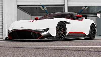 Photograph - Aston Martin Vulcan - 48 by Andrea Mazzocchetti