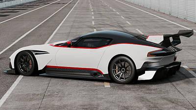 Photograph - Aston Martin Vulcan - 50 by Andrea Mazzocchetti