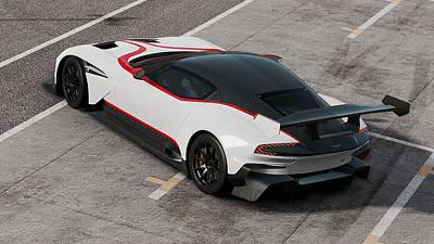 Photograph - Aston Martin Vulcan - 51 by Andrea Mazzocchetti