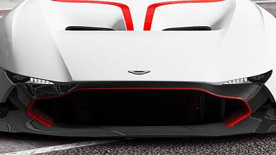 Photograph - Aston Martin Vulcan - 53 by Andrea Mazzocchetti
