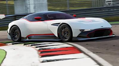 Photograph - Aston Martin Vulcan - 55 by Andrea Mazzocchetti