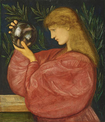 Drawing - Astrologia by Edward Burne-Jones