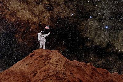 Photograph - Astronaut by Steve Cole
