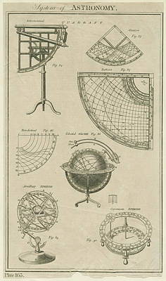 Photograph - Astronomical Instruments by Hulton Archive